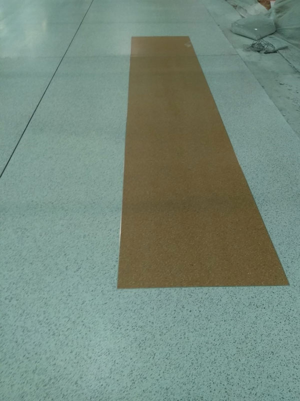 Epoxy terrazzo flooring Project : New delhi Airport